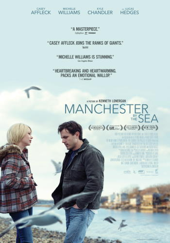 "Filmaffisch för ""Manchester by the Sea"" (2016)"