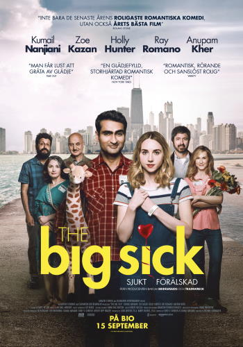 "Filmaffisch för ""The Big Sick"" (2017)"