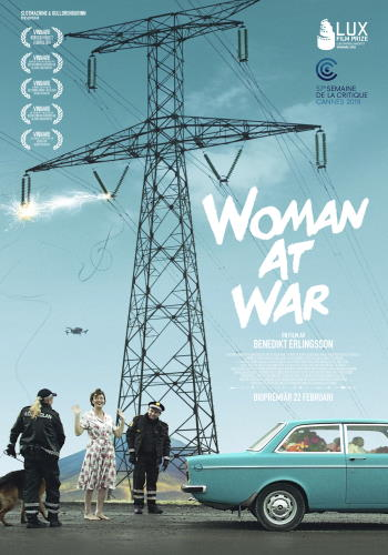 "Filmaffisch för ""Woman at War"" (2018)"